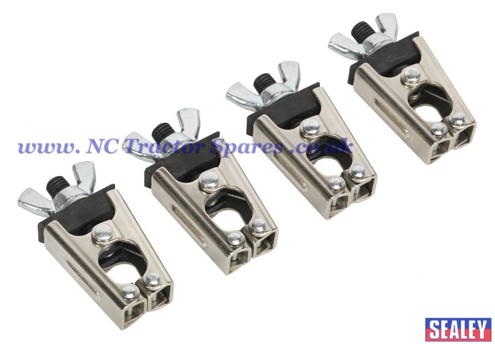 Micro Welding Clamp Set 4pc
